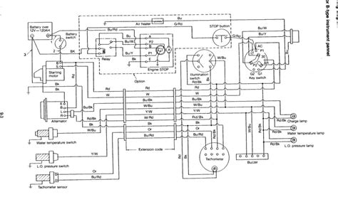 Yanmar Ignition Wiring Diagram Trusted Diagrams