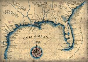 Florida Gulf Coast Nautical Map