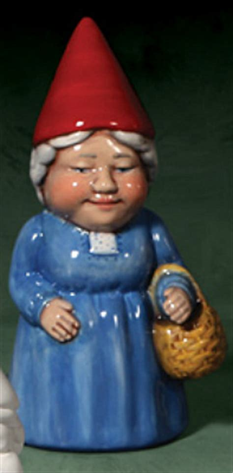female garden gnome hilda funny gnome figurine crafts