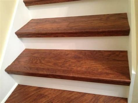highland hickory pergo on stairs   Try DIY   Pinterest