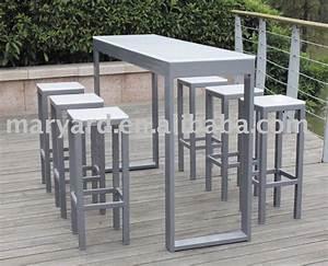Bar Exterieur Bois : table de bar pour exterieur ~ Teatrodelosmanantiales.com Idées de Décoration