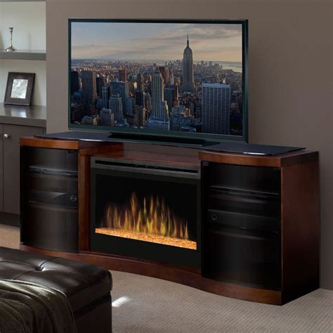 ideas  electric fireplace media center