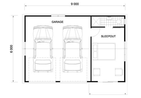 Beautiful Double Garage Size #7 House Plans With Double