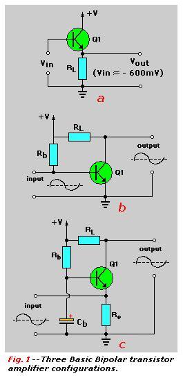 Transistors Tutorial Part Common Collector Amplifiers
