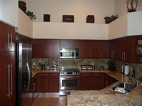 kitchen cabinets cabinet refacing  visions  miami fl