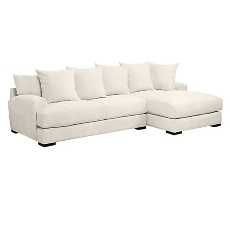 chaise pc stella sectional with chaise z gallerie