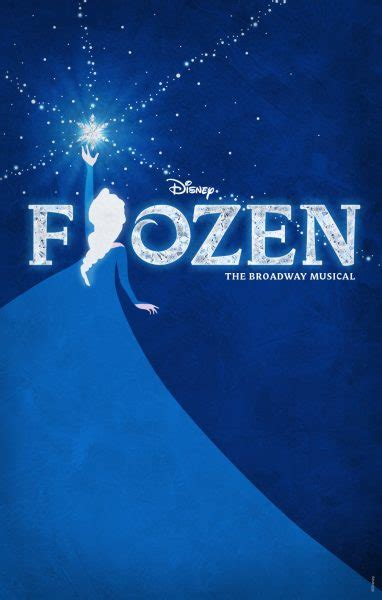 frozen broadway musical poster revealed