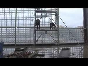 Panneau Brique De Verre : chantier en briques de verre gymnase universit paris ~ Dailycaller-alerts.com Idées de Décoration