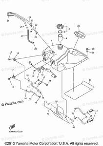 Yamaha Snowmobile 2008 Oem Parts Diagram For Fuel Tank