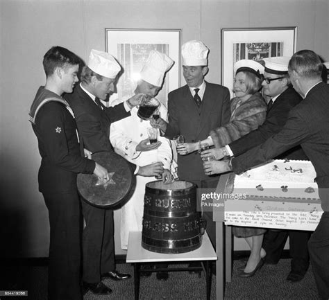 stars   bbcs navy lark visit  royal navy catering