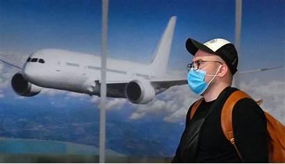 Travel Coronavirus Traveling Airport Planes While Exposure