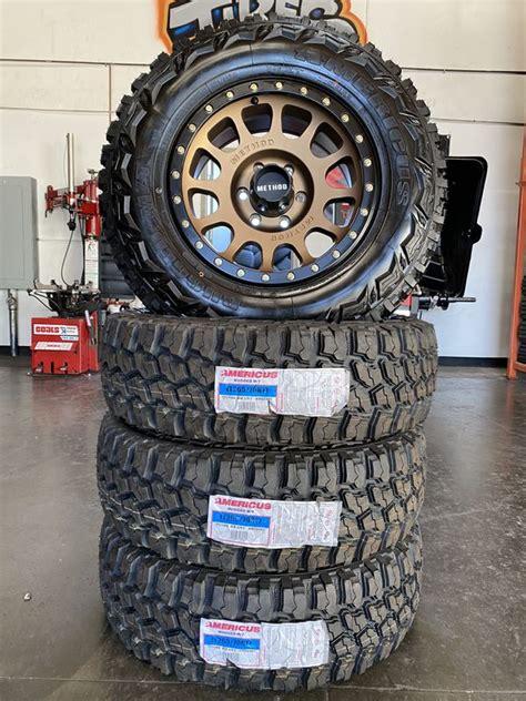 method  nv bronze wheels   mud terrain tires