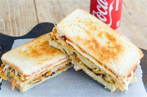 korean street food sandwich