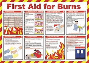 First Aid & Treatment Posters - First Aid for Burns | Aid ...