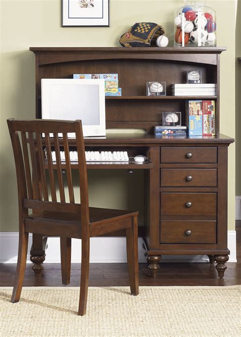 study desk and bookshelf dark brown stained teak wood study table with bookshelf