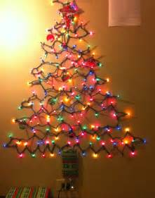 christmas on a budget alternative christmas tree ideas