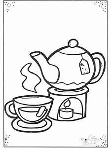 Tee Und Tassen Ausmalbilder Briges