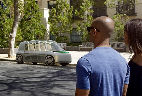 ideo  future  moving  ride sharing car concept