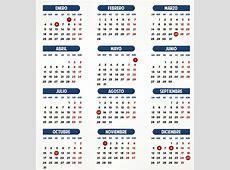 Calendario 2016 Para Viajar, para unas vacaciones