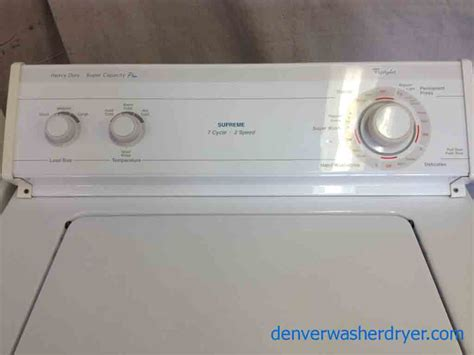 whirlpool washer large images for whirlpool supreme capacity plus