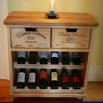 Bois Rustique   Wine Crate Furniture