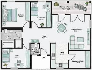 Bauen Zweifamilienhaus Grundriss : bungalow bauen mit streif h user pinterest bungalow ~ Lizthompson.info Haus und Dekorationen