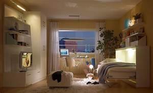 Kleine Wohnung Optimal Einrichten : jugendzimmer wandbett planen schrankbett ~ Markanthonyermac.com Haus und Dekorationen