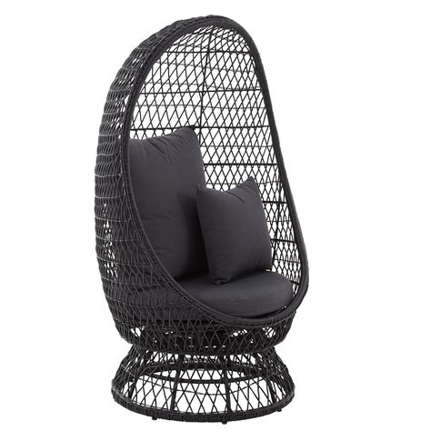 wicker kitchen furniture anya rattan effect egg chair departments diy at b q