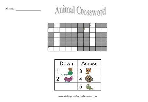 free easy crossword puzzles 451   crossword worksheets 1