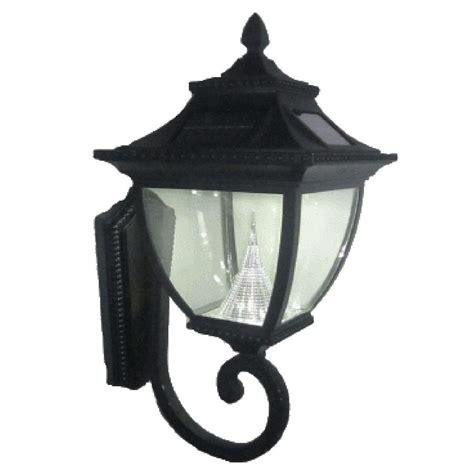 hton bay 1 light black outdoor wall lantern bpm1691 blk