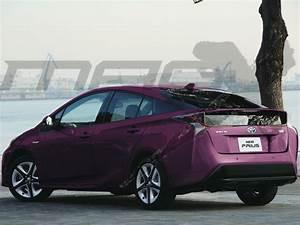 2019 Toyota Prius Facelift To Look Similar To Toyota