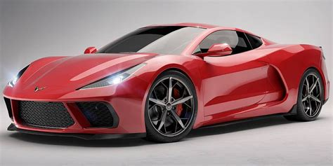 This Is What The Midengined Corvette Could Look Like