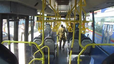 interior  volvo bus  india thane municipal transport city local bus youtube
