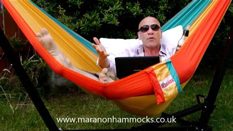 Travel Hammock With Stand by Parachute Silk Travel Cing Hammock In Foldable Hammock