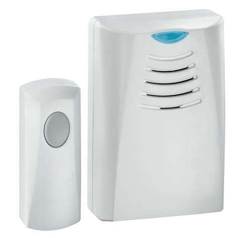 wireless door bells shop honeywell plastic wireless doorbell at lowes