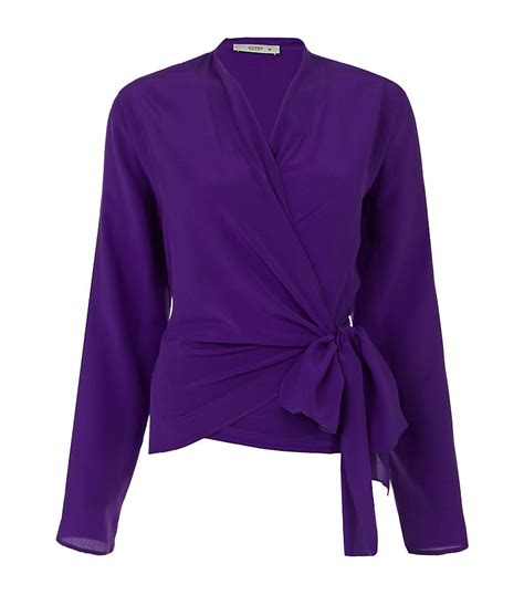 purple blouse womens womens purple blouse smart casual blouse