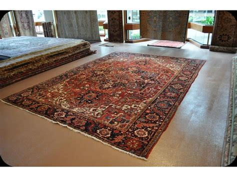 Authentic Persian Heriz Rug Circa 1910's In Very Good Condition At Very Reasonable Price Shop Antique Double Sink Vanity Rings Gold Coast Cane Chairs Uk Night Tables Montreal Shower Head Australia Wax Seals White Daybed With Storage Secretary Hutch Value