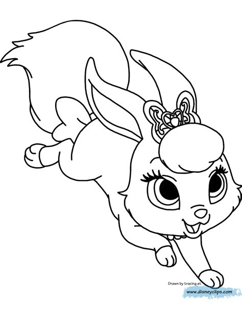 Princess Palace Pets Coloring Pages Educational Coloring
