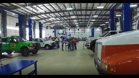 tindol truck shop grand opening facility walk