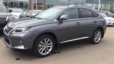lexus gray 2015 lexus rx 350 awd sportdesign edition review in gray