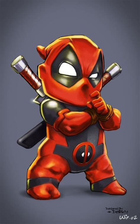 1000+ Ideas About Deadpool Chibi On Pinterest Deadpool