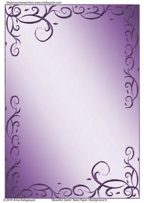 Beautiful Swirls Note Paper / Background 9 CUP161626 96