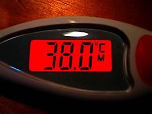 38.0 °C - digital display of human body temperature | Flickr