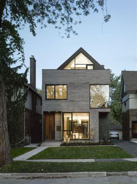 Moderne Häuser Kanada by Modernes Traumhaus In Einer Schmalen Baul 252 Cke Errichtet