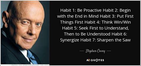 stephen covey quote habit   proactive habit