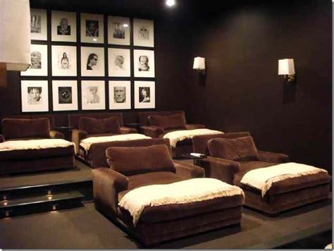 home theater chairs decor design