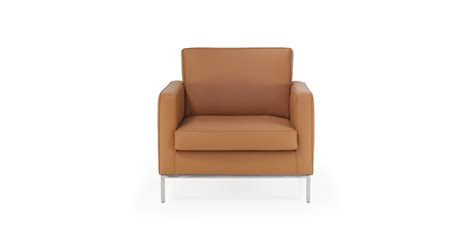 Knoll Armchair Without Buttons