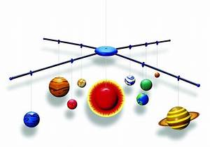 3D Solar System Model Making Kit - Raff and Friends