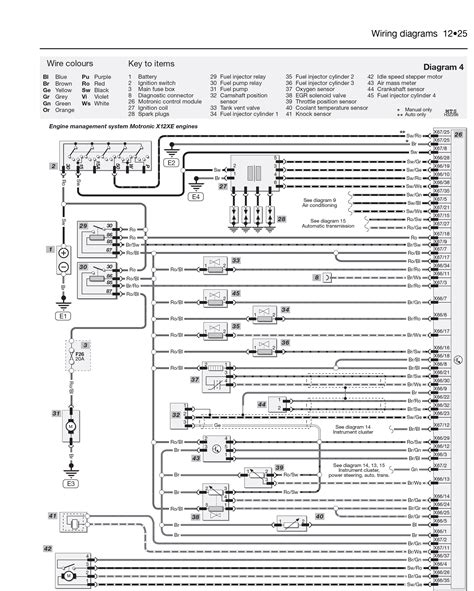wiring diagram vauxhall combo manual images diagram