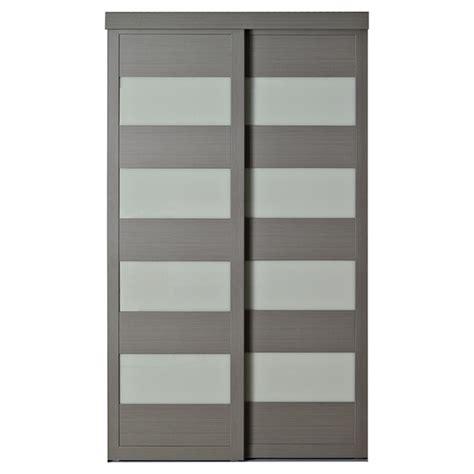 COLONIAL ELEGANCE   Porte coulissante «4 Lite» 48 po x 80